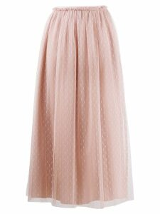 Red Valentino RED(V) pleated skirt - Pink