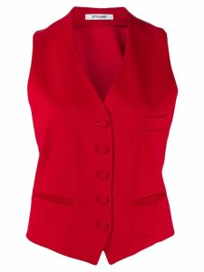 Styland buttoned waistcoat - Red