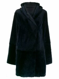 Sylvie Schimmel double-breasted coat - Blue