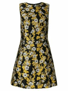 Dolce & Gabbana fitted jacquard dress - Black