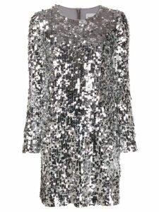 be blumarine sequin mini dress - Silver