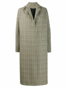 32 Paradis Sprung Frères Michigan check coat - Neutrals