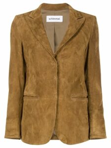 Sylvie Schimmel single-breasted fitted blazer - Brown