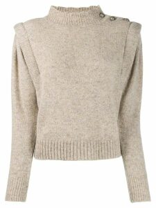 Isabel Marant Étoile Utility-style knitted jumper - Neutrals