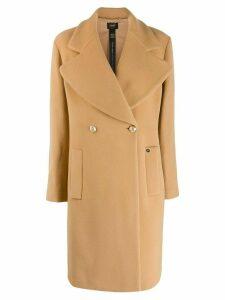 LIU JO oevrsize lapel coat - NEUTRALS