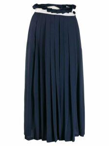 Golden Goose Hasu pleated skirt - Blue