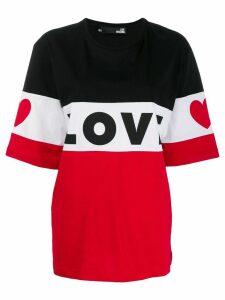 Love Moschino Love T-shirt - Black