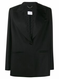 Magda Butrym single breasted tuxedo blazer - Black