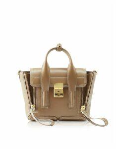 3.1 Phillip Lim Designer Handbags, Mushroom Pashli Mini Satchel