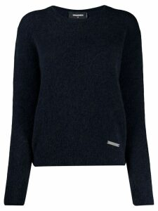 Dsquared2 roll neck sweater - Blue