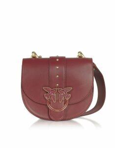 Pinko Designer Handbags, Round Love Crossbody bag