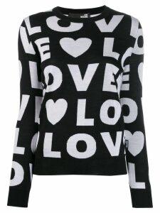 Love Moschino Love jumper - Black