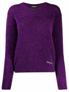 Dsquared2 roll neck sweater - Purple