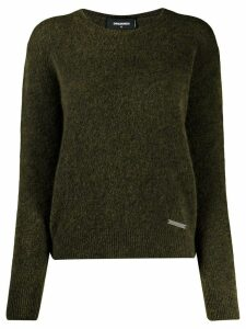 Dsquared2 ribbed knit sweater - Green
