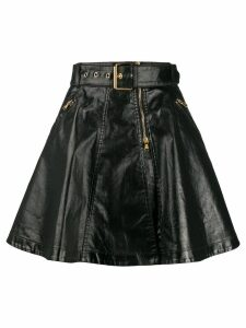 Moschino biker skirt - Black