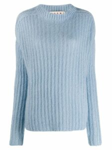 Marni turtle neck jumper - Blue