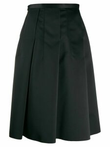 Nº21 box pleat skirt - Black