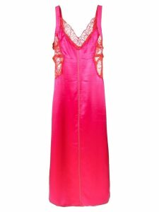 Sies Marjan Alma satin side strapped dress - Pink