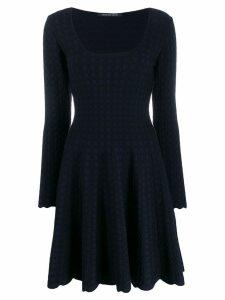Antonino Valenti flared knit dress - Blue