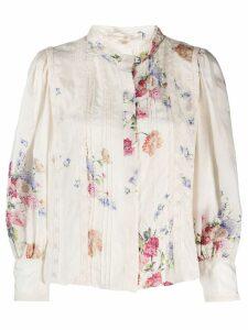 Love Shack Fancy Tegan blouse - Neutrals