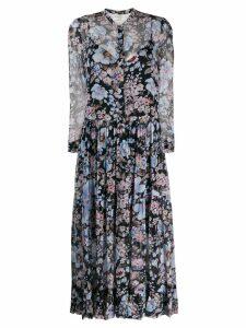 Baum Und Pferdgarten floral print dress - Blue