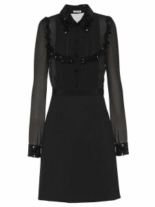 Miu Miu sequin-embellished dress - Black