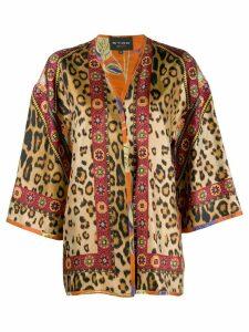 Etro multi-print kimono - Multicolour