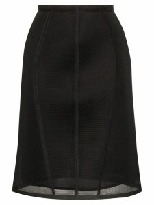 Fendi mesh pencil skirt - Black