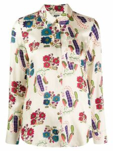 Maison Rabih Kayrouz printed blouse - Neutrals