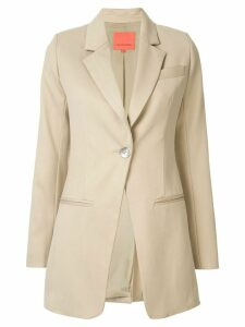 Manning Cartell single button blazer - Brown