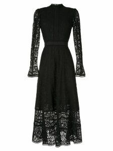 Rachel Gilbert Hattie lace dress - Black