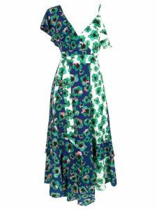 Borgo De Nor Leone crepe dress - Blue