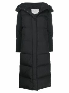 Woolrich long padded coat - Black