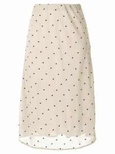 Sir. Camille Midi Skirt - Neutrals