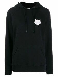 Kenzo tiger patch hoodie - Black
