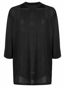 Vivienne Westwood Anglomania oversized graphic print top - Black