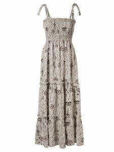 Sir. Stella tiered maxi dress - NEUTRALS