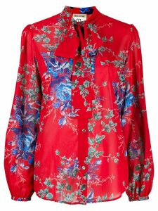 Semicouture floral print shirt - Red