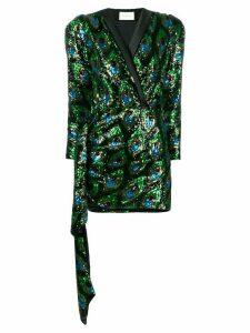 Giuseppe Di Morabito sequined pattern mini dress - Black