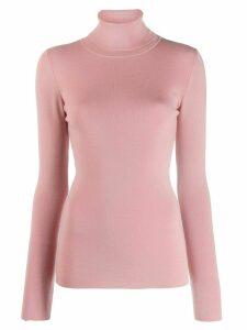 Odeeh turtle neck jumper - Pink