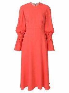 Roksanda gathered sleeve dress - Pink