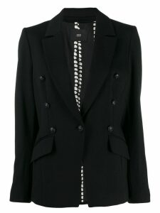 Steffen Schraut button detail blazer - Black