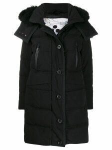 Peuterey Guardian hooded down coat - Black