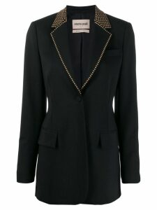 Roberto Cavalli studded tailored blazer - Black