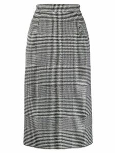 Ermanno Scervino checked skirt - Black
