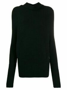 Patrizia Pepe round-neck jumper - Black
