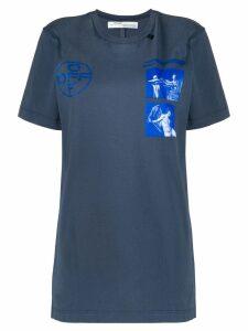 Off-White Hardcore Caravaggio print T-shirt - Blue