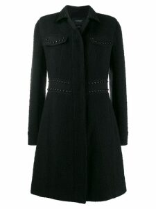 Giambattista Valli stud-embellished coat - Black