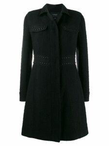 Giambattista Valli stud-embellished coat - Black