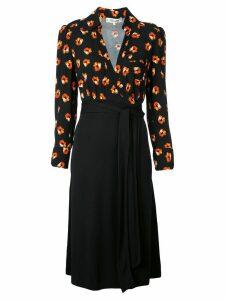 Diane von Furstenberg Angelina wrap dress - Black